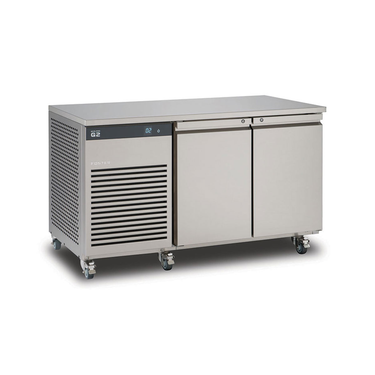 Foster EcoPro G2 2 Door Counter 1 - Refrigeration Equipment Suppliers in Cornwall