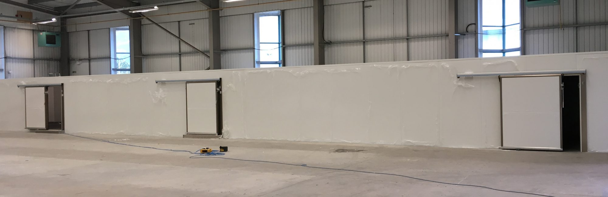 Purever PIR Cold Store Project in Cornwall