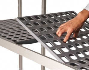 Ease of assembly 2 297x232 - Hygienic Shelving